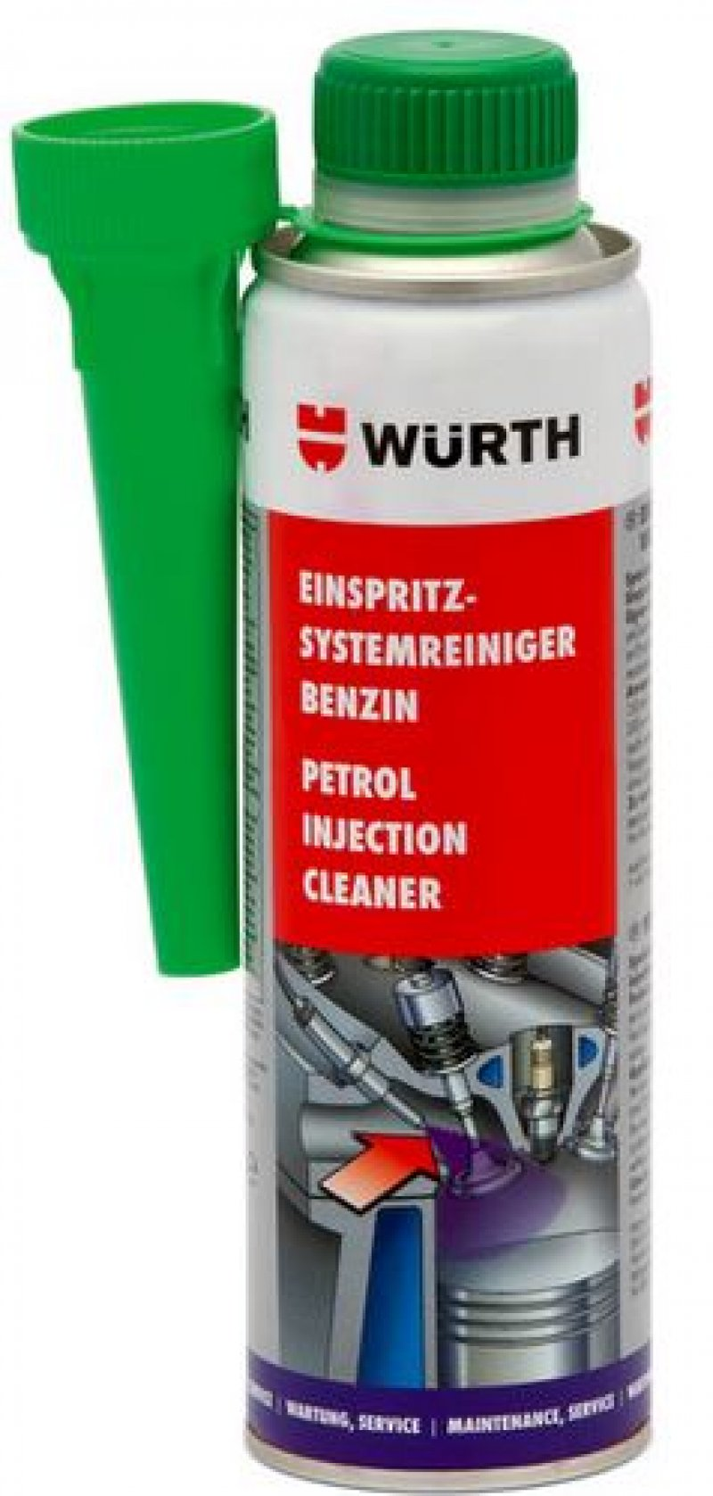 Wurth Service Supply : Petrol injection system cleaner